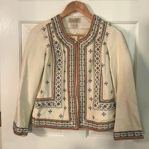 Lucky Brand beaded Jacket